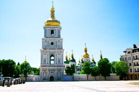 View of Sophia of Kyiv. Kyiv. Ukraine. Europe