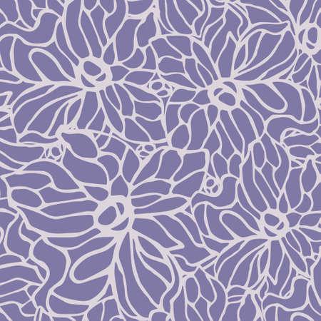 flowers background: Flores de lavanda de fondo Vectores