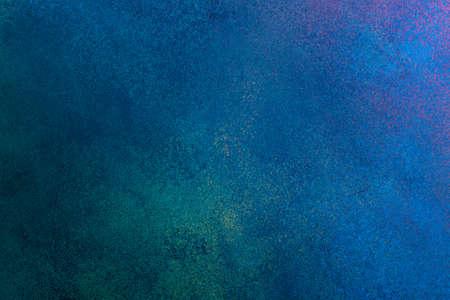 trama di stucco blu grunge, banner, spazio di copia Archivio Fotografico