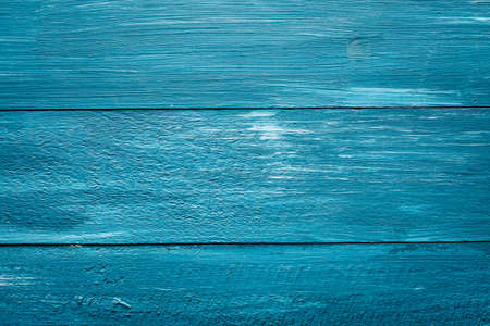 blue background from painted boards, copy space, design, horizontal banner