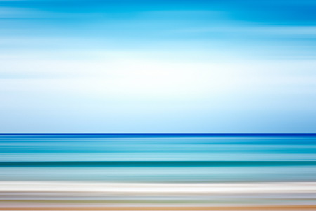 Abstract background. Sea and coastline. Pure ocean water and sky.