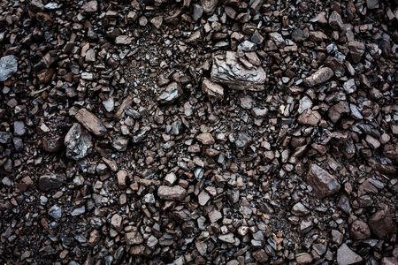 Black coal textured background. Mining concept.
