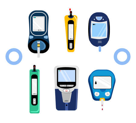 Electrochemical and Photometric glucometers.Diabet glucose tests in organic liquids during pregnancy.Device for Blood Sugar analyse at home.World diabetes day.Determination of glycated hemoglobin.