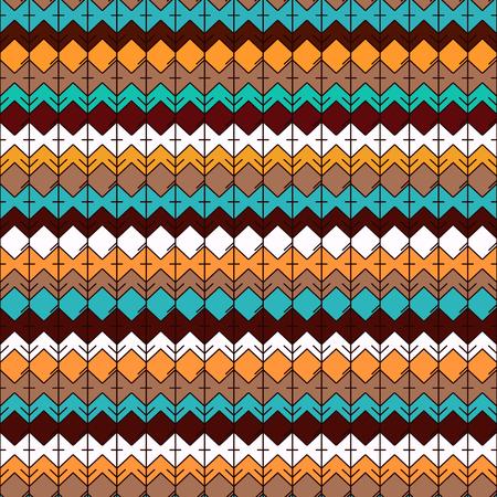 Ethnic Seamless Pattern. Tribal Geometric Background. Ethno Design. Modern  Abstract Wallpaper. Vector