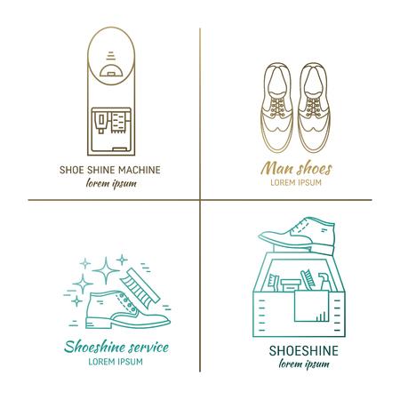 Shoeshine logo design