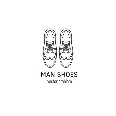 Man shoes logo Logo