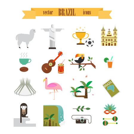 Brazilië pictogrammen instellen