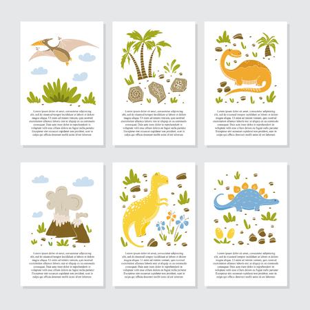 Vector greeting cards Stock Illustratie