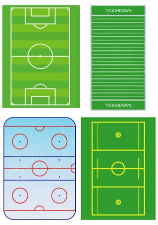 else: Soccer, hockey and else fields schemes.