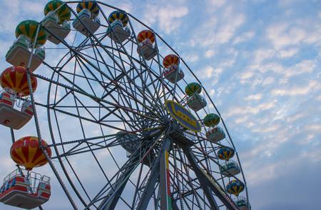 vacance: Ferris wheel Stock Photo