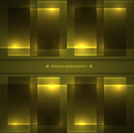 abstract geometric pattern with backlight.  Illustration