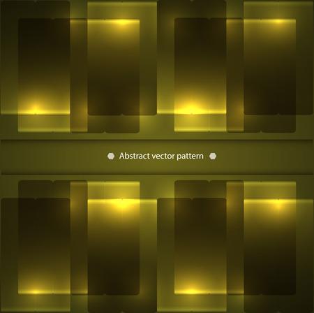 backlight: abstract geometric pattern with backlight. illumination. vector illustration