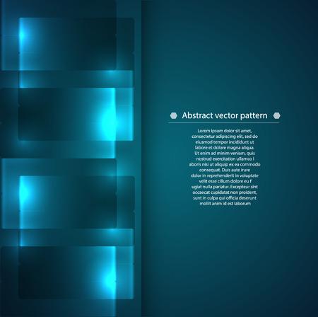 fondo luminoso: modelo geom�trico abstracto con luz de fondo. Vectores