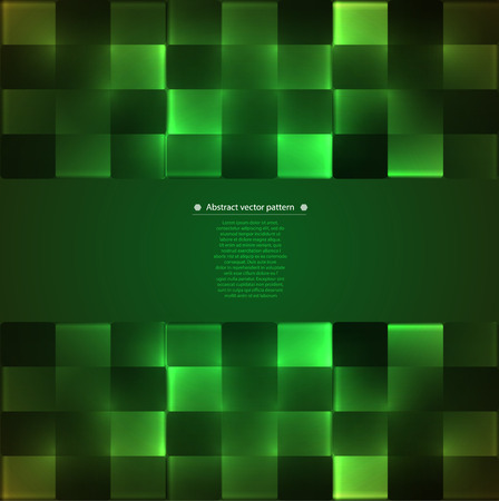 backlight: abstract geometric pattern with backlight.  Illustration