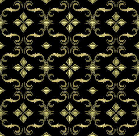 expensive: seamless expensive Victorian pattern in retro vintage style. vector illustration