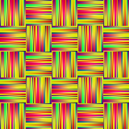 textiles: seamless rainbow Background with Lines and Stripes, sewing textiles.