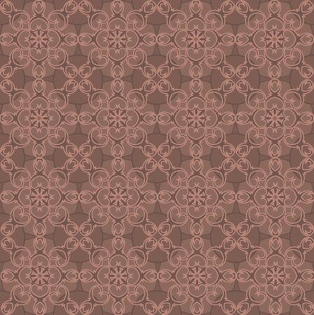 seamless pattern, monochrome ethnic, religious design element
