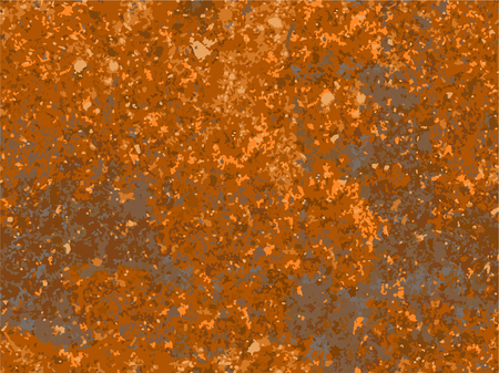 natural rusty texture, imitation of rust. seamless Vector pattern  イラスト・ベクター素材