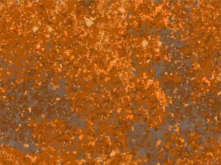natural rusty texture, imitation of rust. seamless Vector pattern 일러스트