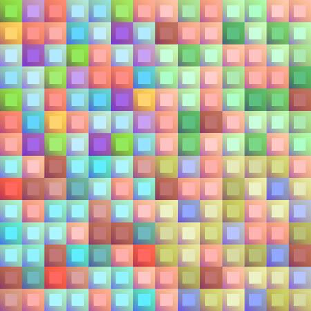 seamless pixel pattern. convex constructor. Vector illustration