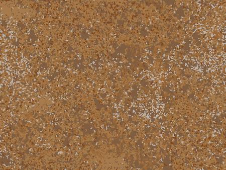 Textura oxidada natural, imitación de óxido. patrón de vector transparente Ilustración de vector