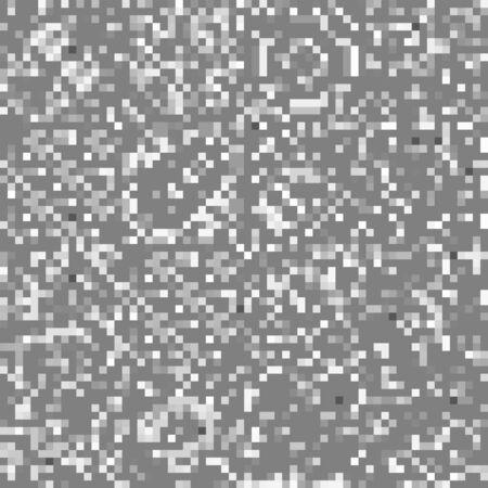 cuadrados geométricos sin fisuras, textura de píxeles, patrón de vector Ruido blanco