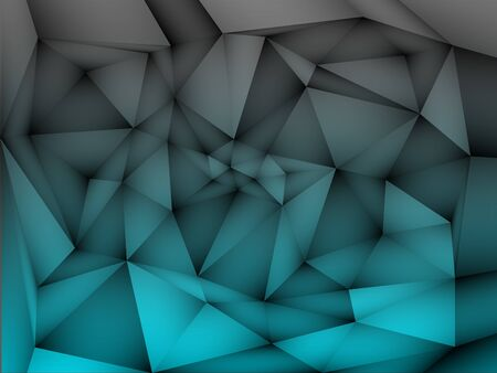 Abstract white background with triangular polygons.  vector illustration