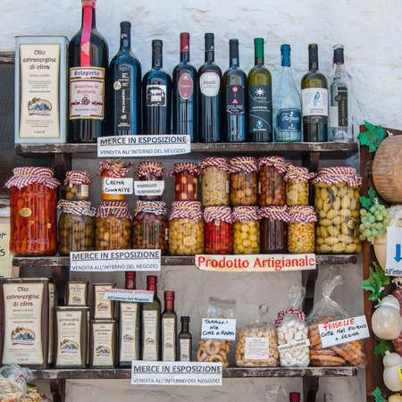 Typical Puglia products Sajtókép
