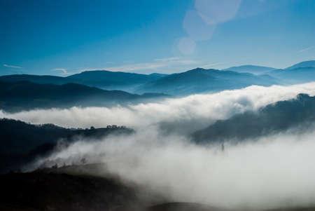 Fog in the hills Stock fotó - 88217775