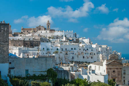 Ostuni city Stock fotó - 88217796
