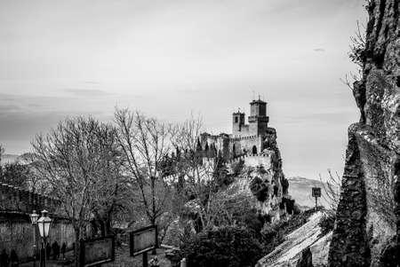 Fortress of Guaita Stock fotó - 87505273