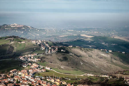 The view from San Marino