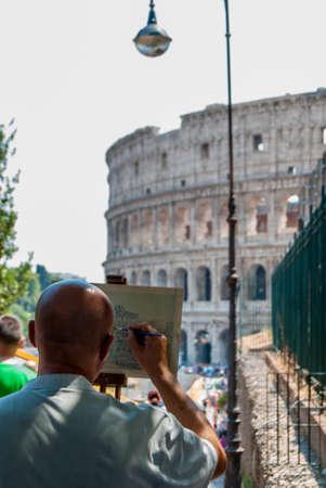 Colosseum artist