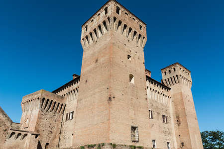 The Rocca di Vignola is a castle located in the municipality of the same name on the banks of the Panaro Stock fotó - 89779439