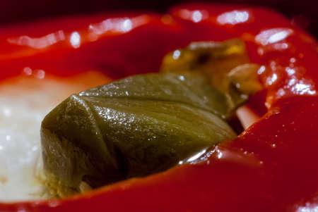 Chili Pepper Close Up Stock fotó