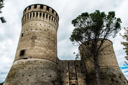Castle of brisighella, Ravenna - Italy Stock fotó - 88737234