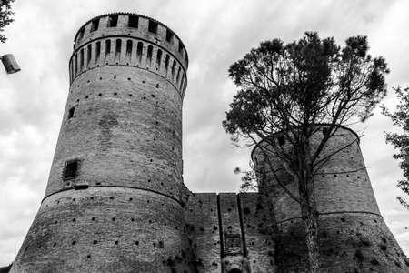 Castle of brisighella, Ravenna - Italy Stock fotó - 88737235