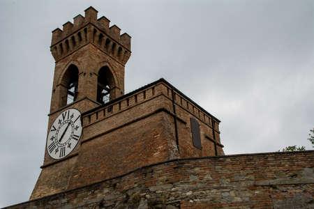 Brisighella, October 08 2016 - View of the Clock Tower Stock fotó - 89043165