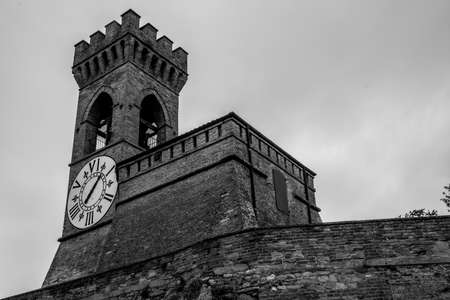 Brisighella, October 08 2016 - View of the Clock Tower Stock fotó
