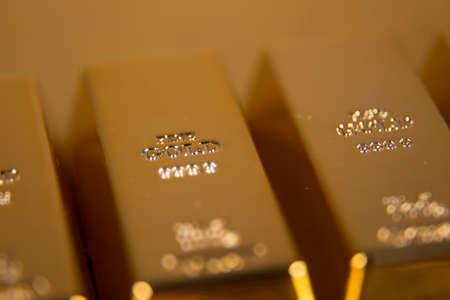gold bullion Stock Photo - 52558338
