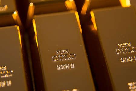 gold bullion Stock Photo - 52558341