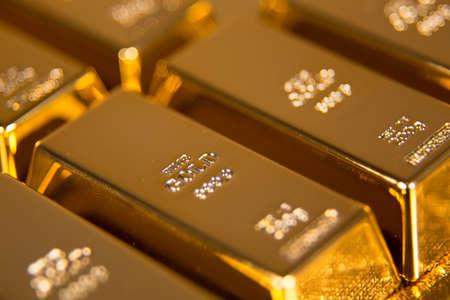 comercio: barras de oro