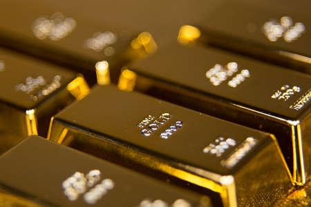 money background: gold bullion