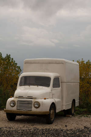 the truck used in the fifties in Italy photo