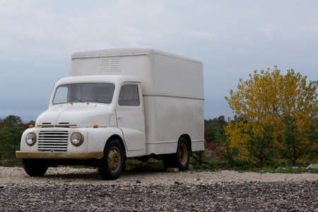 Old Fiat 615, the truck used in the fifties in Italy photo