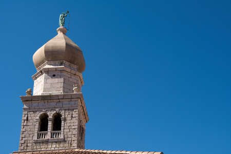 bell tower: Cathedral Bell Tower Krk Croatia