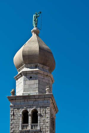 krk: Cathedral Bell Tower Krk Croatia