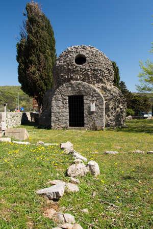krk: Saint Donat chapel  Krk  Croatia