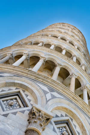 famous: Famous Pisa tower diagonal composition