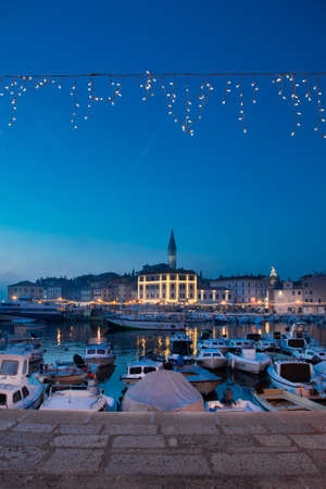 christmas tide: Christmas in Rovinj, Croatia